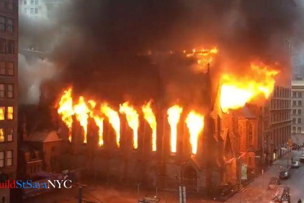 OBNOVIMO CRKVU SVETOG SAVE U NJUJORKU: Evo kako da donirate da se srpska svetinja digne iz pepela!