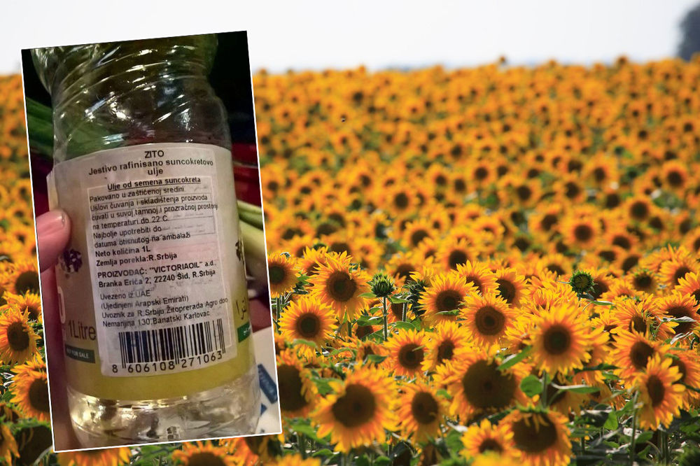 Mulk Holdings prodavao suncokretovo ulje na teritoriji Srbije