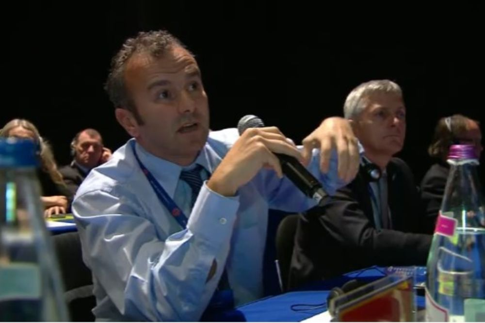 ALBANSKI MEDIJI SE HVALE: Dejan Savićević u ime Crne Gore glasao za prijem Kosova u UEFA
