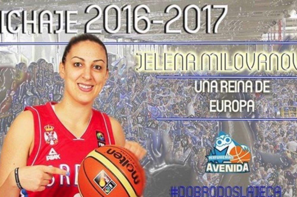 (VIDEO) KRALJICA EVROPE: Jelena Milovanović potpisala za šampiona Španije