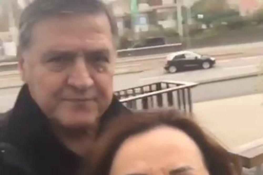 (VIDEO) MRKIN HAOS NA FEJSBUKU: Selfi sa Bekutom kakav još nije viđen