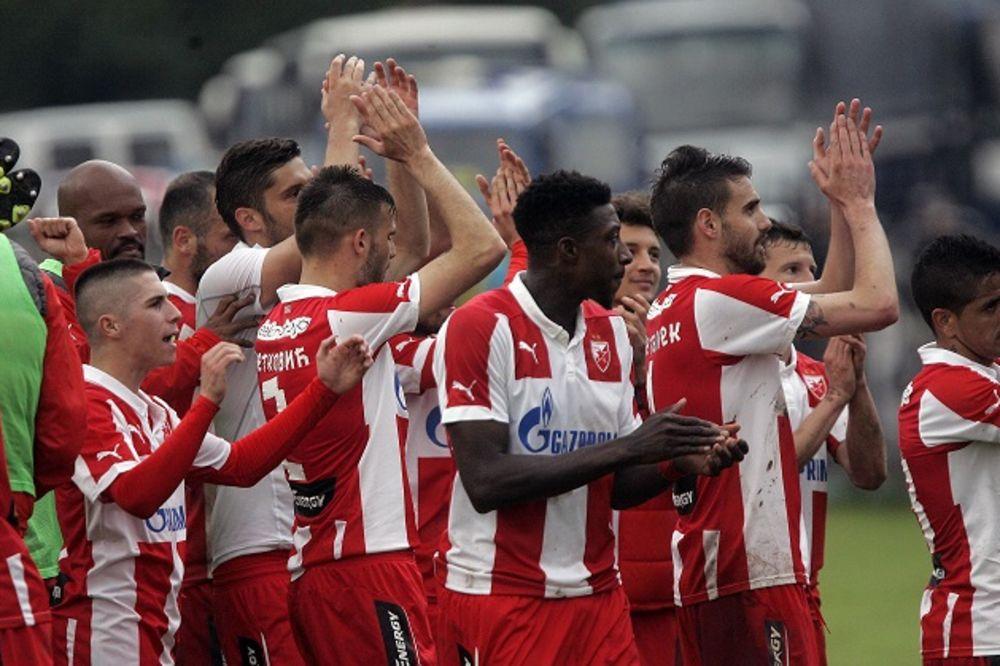 ZVEZDA PRVA PONOVO: Crveno-beli osvojili 27. titulu posle poraza Čukaričkog od Vojvodine