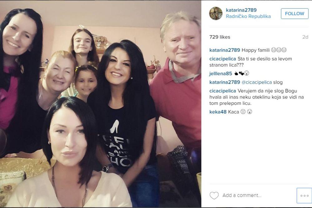 (FOTO) ŠTA JOJ SE DOGODILO? Fanovi zabrinuti za izgled Katarine Živković!