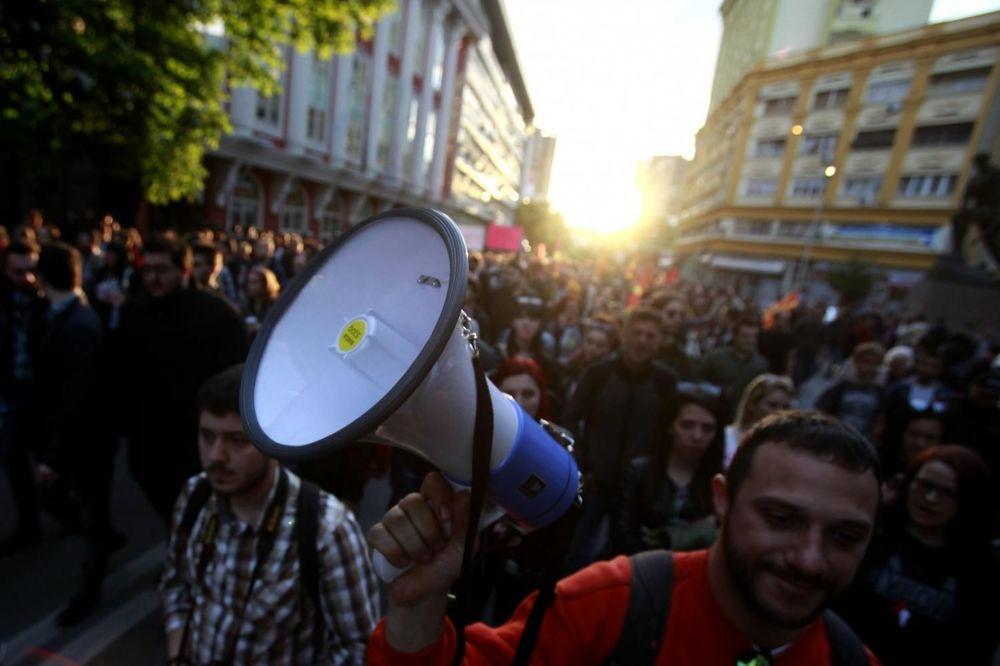 POSLE PRAZNIČNE PAUZE: Ponovo protesti u Skoplju, traže ostavku Ivanova