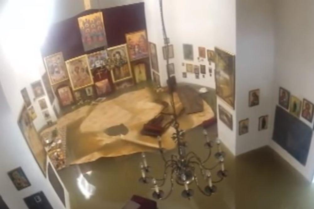 (VIDEO) ZA VASRKS GRAČANICE: Ovako je potopljena svetinja kod Valjeva