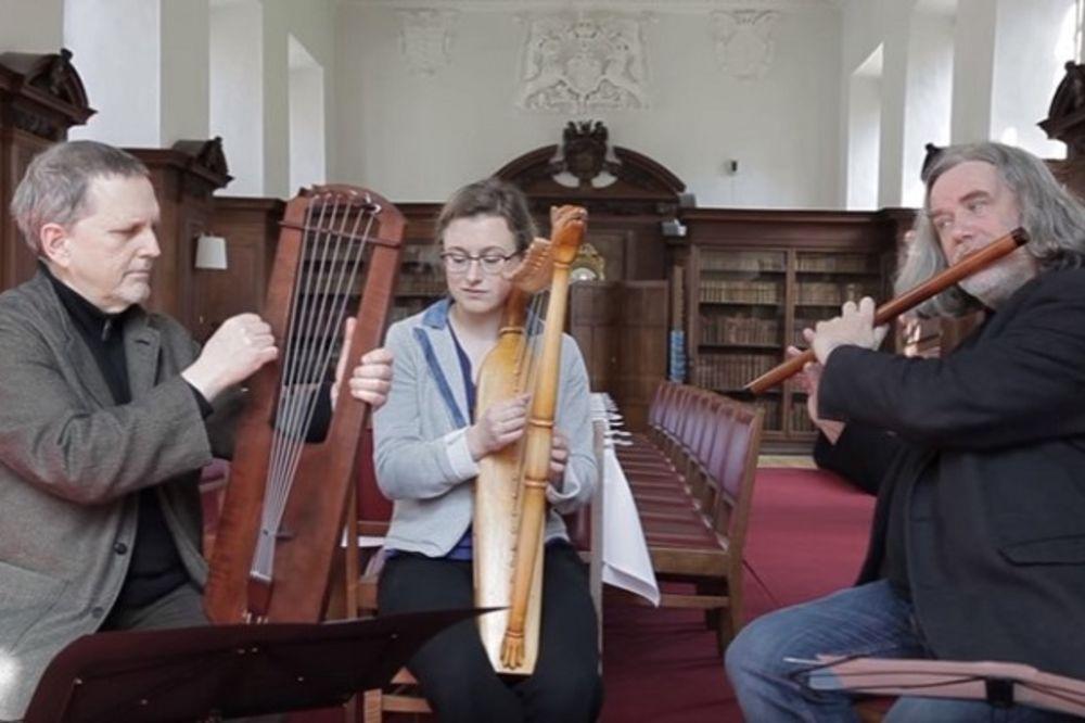 (VIDEO) PUTOVANJE U SREDNJI VEK: Poslušajte kako zvuči pesma stara 1.000 godina