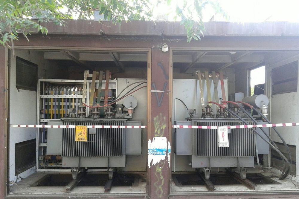 SPRŽILA GA STRUJA: Čapljinac hteo da pokrade kablove sa trafostanice!