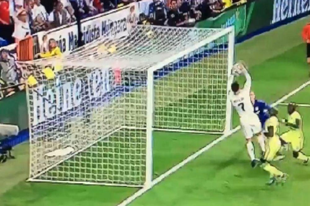 (VIDEO) KRISTIJANOV ŠOU U MADRIDU: Ronaldo zakucao loptu rukama u mrežu!