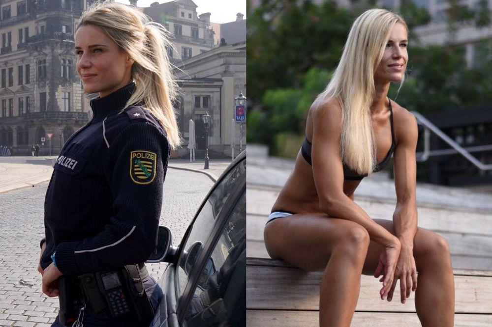 (FOTO) POLICAJKA SRUŠILA INTERNET: Seksi Nemica pokazala isklesano telo i zaludela svet