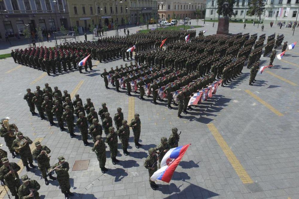 FOTO DAN VOJSKE SRBIJE: Ovako će 1.300 vojnika marširati ulicama Zrenjanina