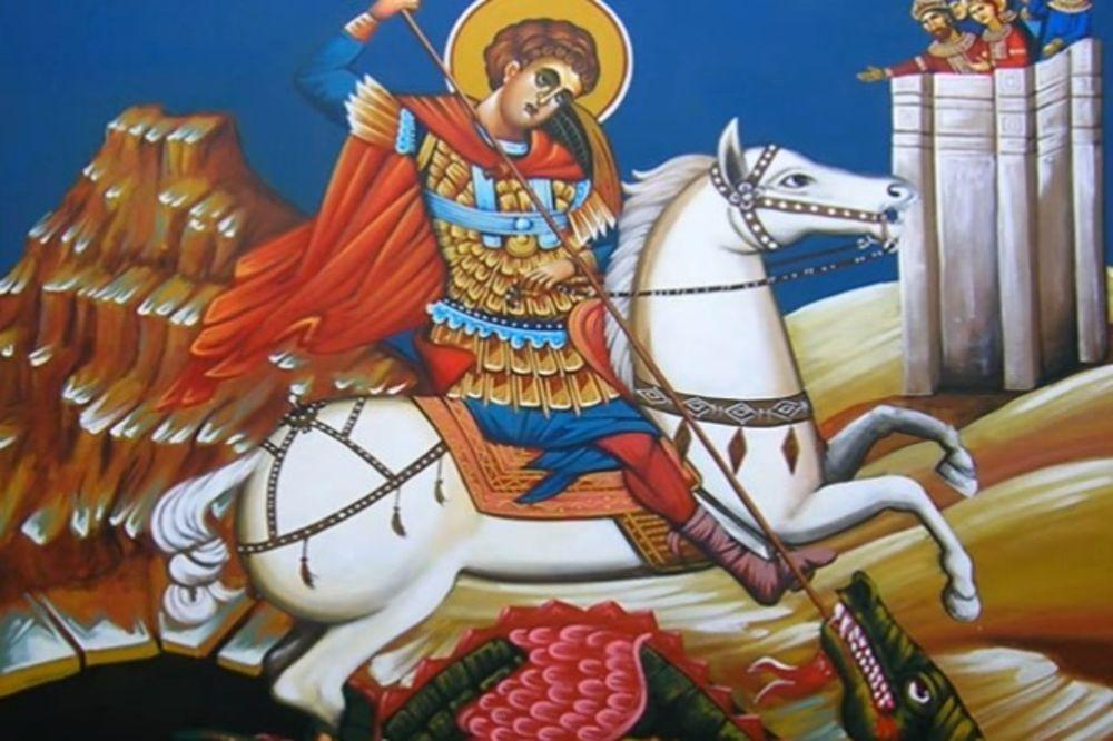 DANAS SLAVIMO ĐURĐEVDAN: Sveti Đorđe je stradao zbog hrišćanske vere! Svojim čudima rušio statue rimskih bogova