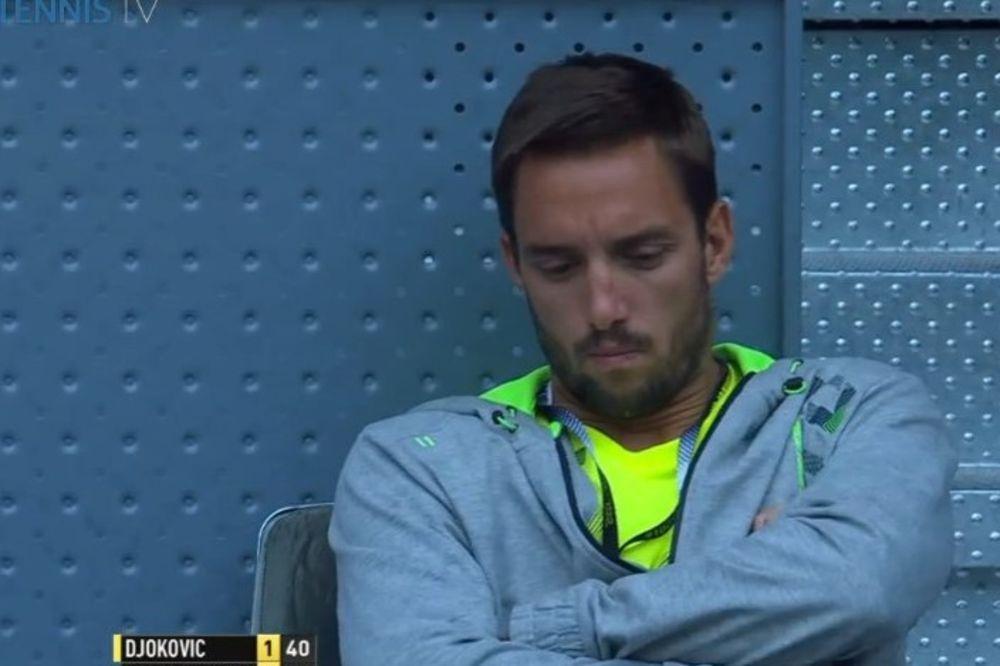 ZADREMAO: Srpski teniser nije preterano zainteresovan za majstorije Novaka Đokovića