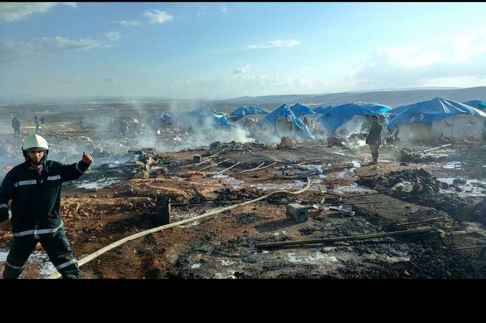 (UZNEMIRUJUĆE) MASAKR BLIZU TURSKE GRANICE: Desetine poginulih u vazdušnom napadu na izbeglički kamp