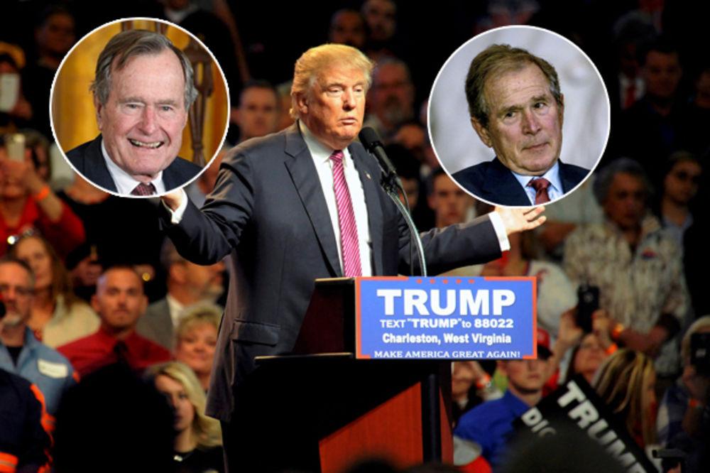 MINIRALI JEDINSTVO STRANKE: Bušovi ne daju podršku Trampu