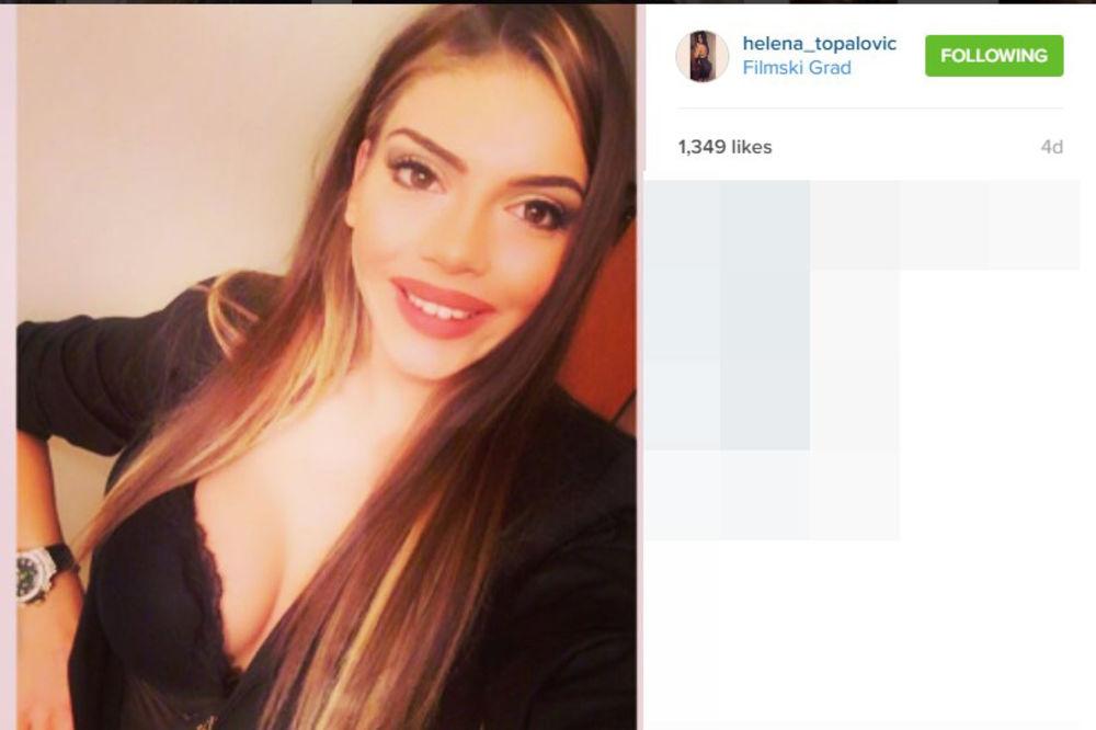 HELENA SRUŠILA INSTAGRAM: Topalkova ćerka objavila fotku sa mature i oduvala konkurenciju