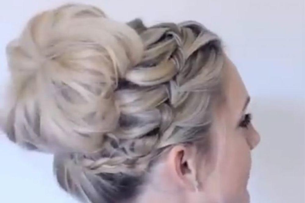 VIDEO UVEK NOVA I MODERNA: Želite savršenu frizuru za subotu uveče, evo kako ćete je napraviti