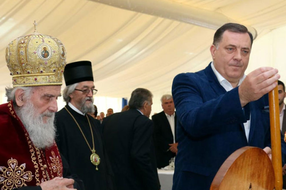 (FOTO) Predsednik Dodik proslavio krsnu slavu!