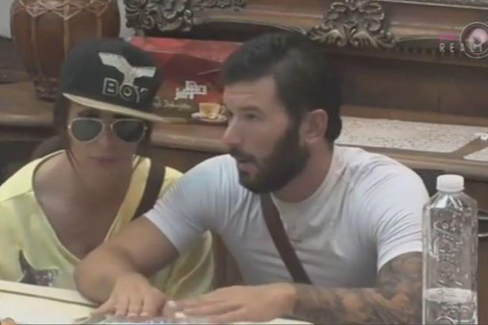 (VIDEO) NIKOLA, TREBALO JE DA BUDEŠ ŽENSKO: Saška Karan uvredila Lakića, evo kako je on reagovao