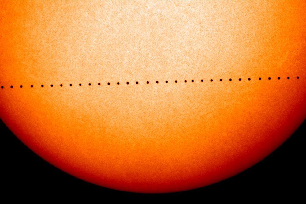 Sunce Merkur Foto AP