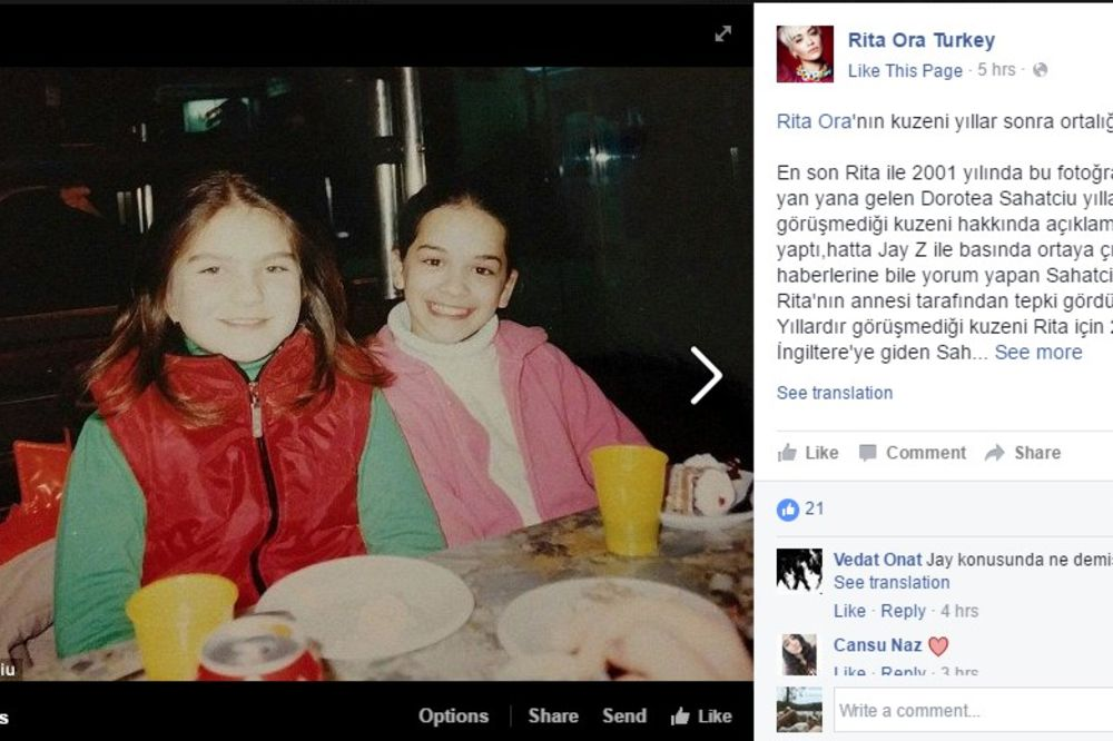 ispovest roĐake albanske peva�ice rite ore angažovala je