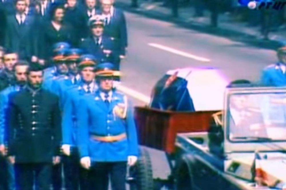 (VIDEO) NAJVEĆI POSLEDNJI ISPRAĆAJ U ISTORIJI: Na današnji dan sahranjen je Josip Broz Tito