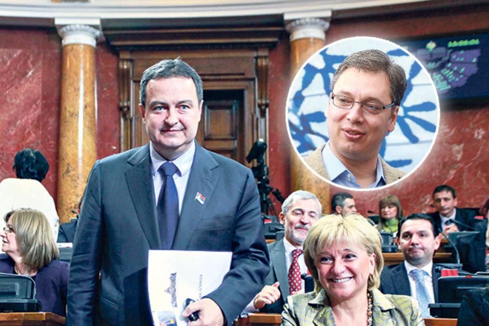 NOVA TAKTIKA: Dačić na čelu Skupštine, njegovi ministri će leteti