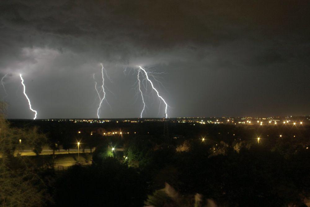 munje gromovi oluja nevreme Beograd Foto Dragana Udovicic