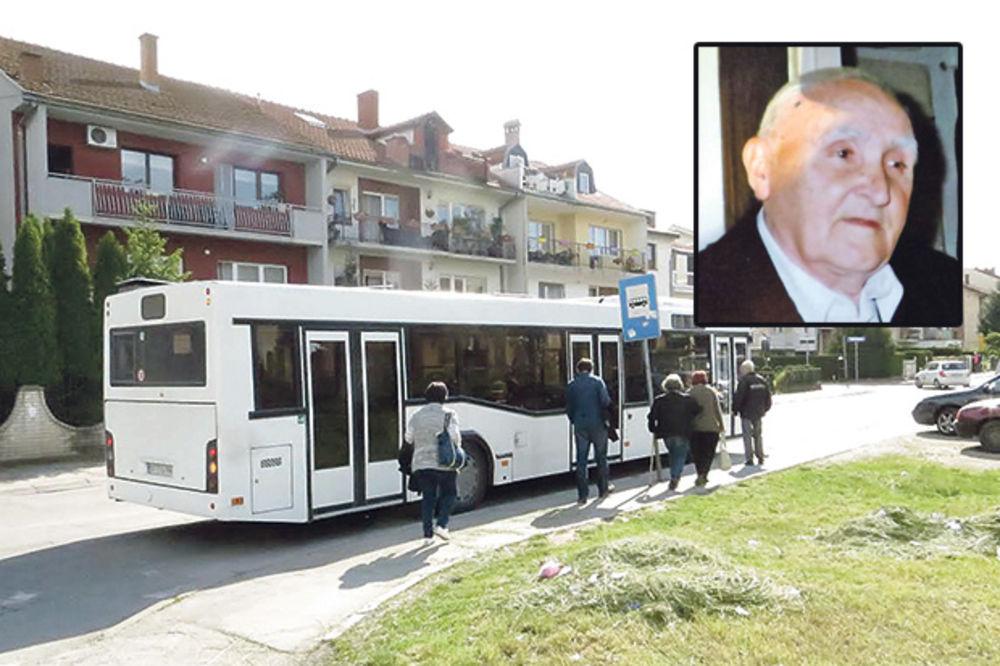 TRAGEDIJA U NIŠU: Preminuo starac koji je ispao iz autobusa