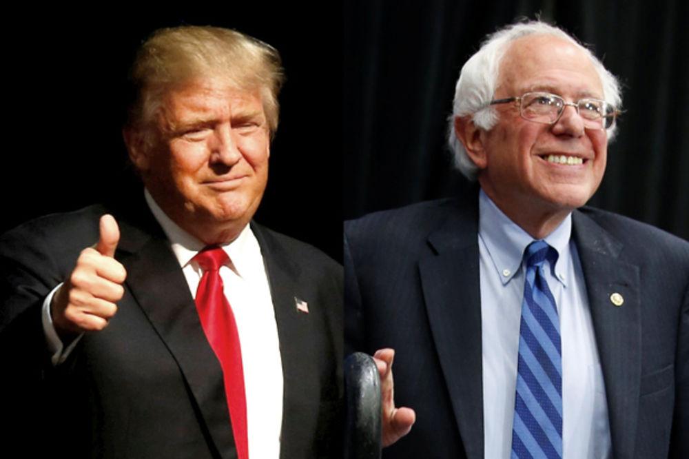 BILA BI TO ISTORIJSKA DEBATA: Tramp hoće duel sa Sandersom, ali pod jednim uslovom
