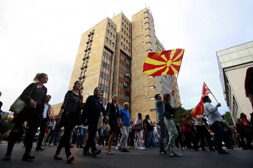 NASTAVLJENE DEMONSTRACIJE: Pokret Protestujem ponovo na ulicama Skoplja