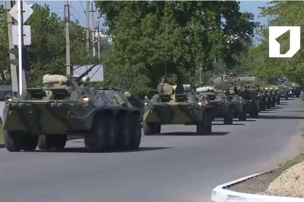 PENTAGON MIRAN: Rusija ne gomila trupe prema Ukrajini, samo održava vojne vežbe