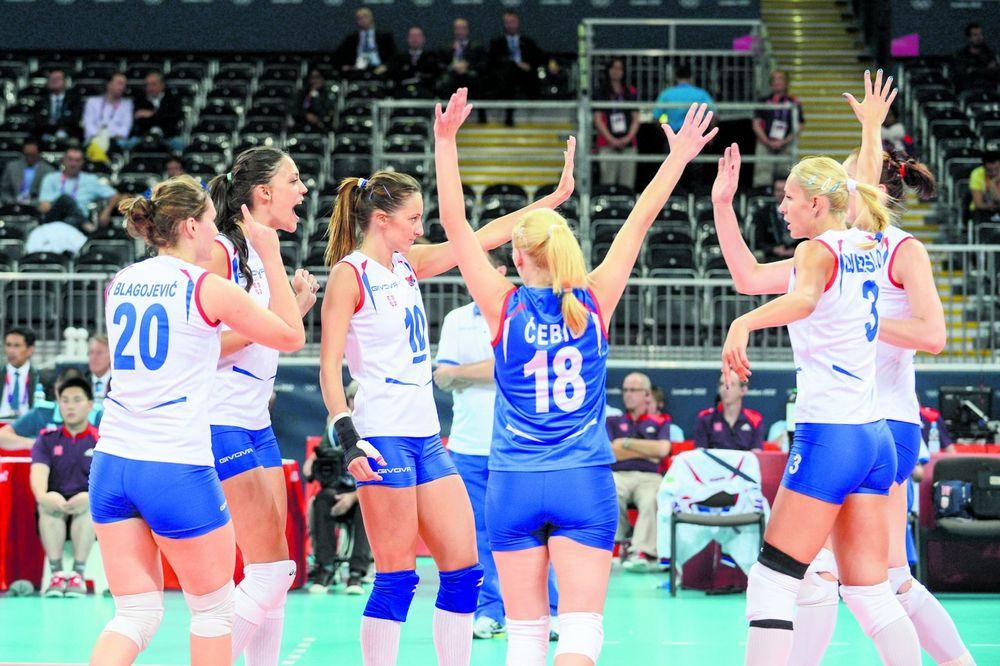PROTIV NAJBOLJIH U GRUPI: Odbojkašice Srbije dobile protivnike na OI u Rio de Žaneiru