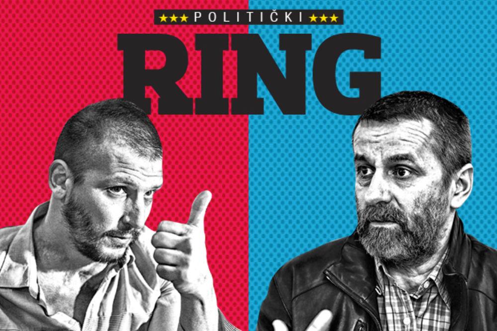 POLITIČKI RING: Danilo Ikodinović vs Bogdan Obradović