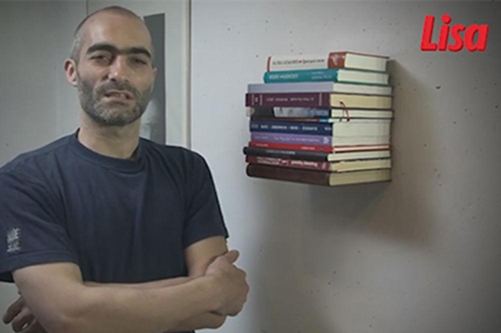(VIDEO) Nevidljiva polica za knjige