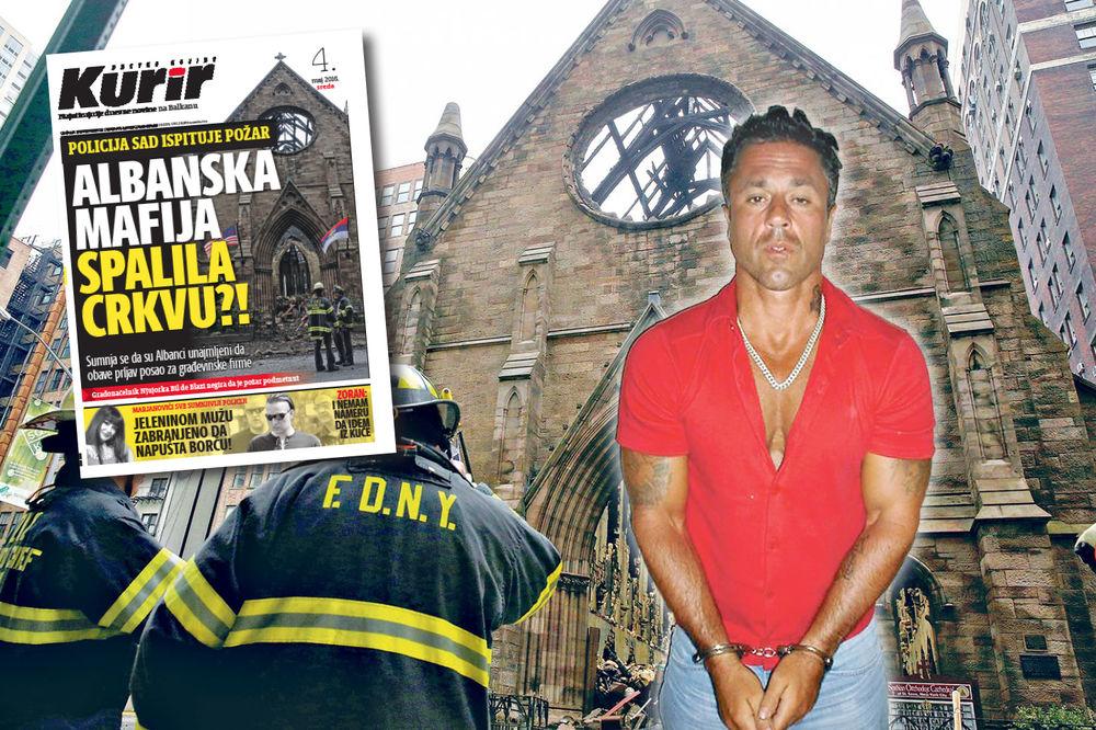 PALJENJE SRPSKE CRKVE U NJUJORKU Kurir pomaže: Vatrogasci istražuju naše navode