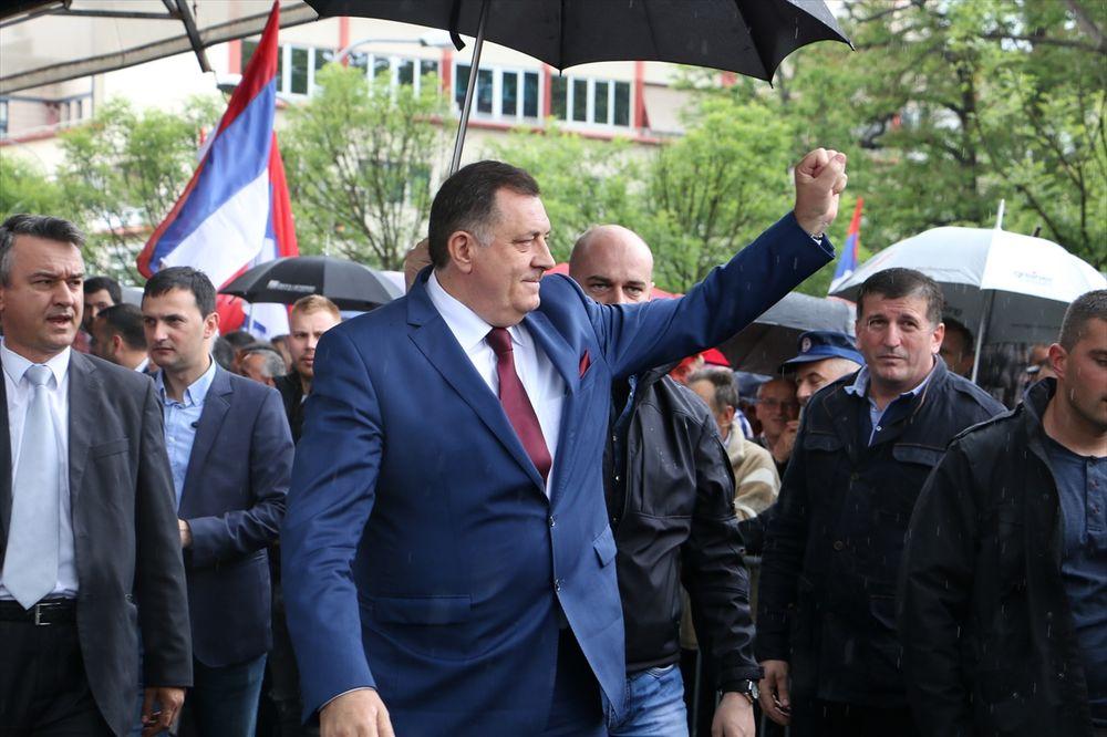 DODIK NA PROTESTU: Republika Srpska je država, a bez države nema slobode