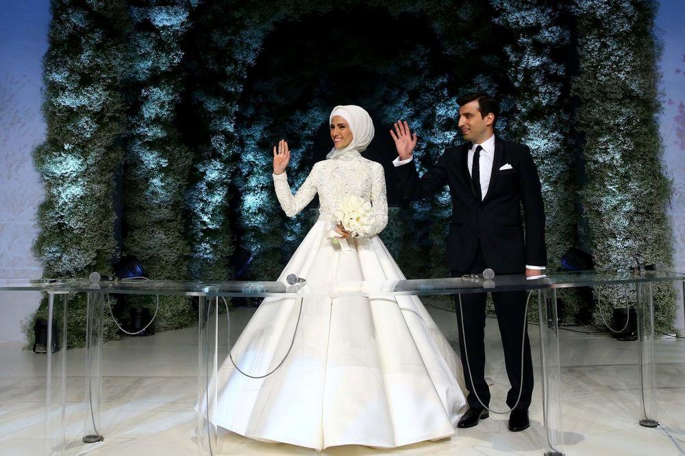 (FOTO, VIDEO) UDALA SE ERDOGANOVA ĆERKA: Na venčanju bili Izetbegović i Rama