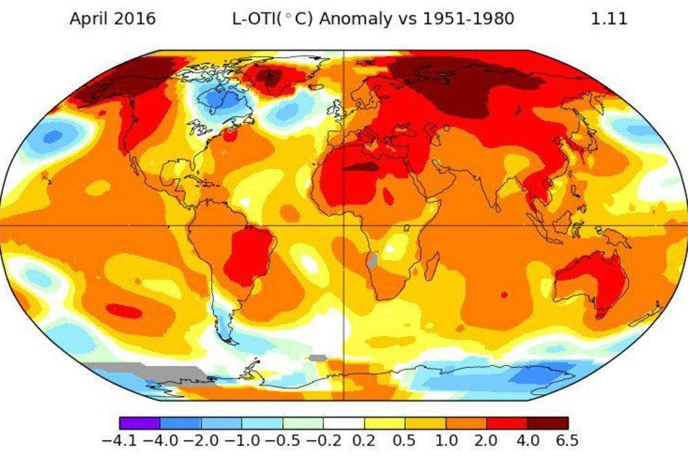 ALARMANTNO UPOZORENJE NASA: Zemlja gori, a biće još gore - 2016. biće najtoplija godina ikada!
