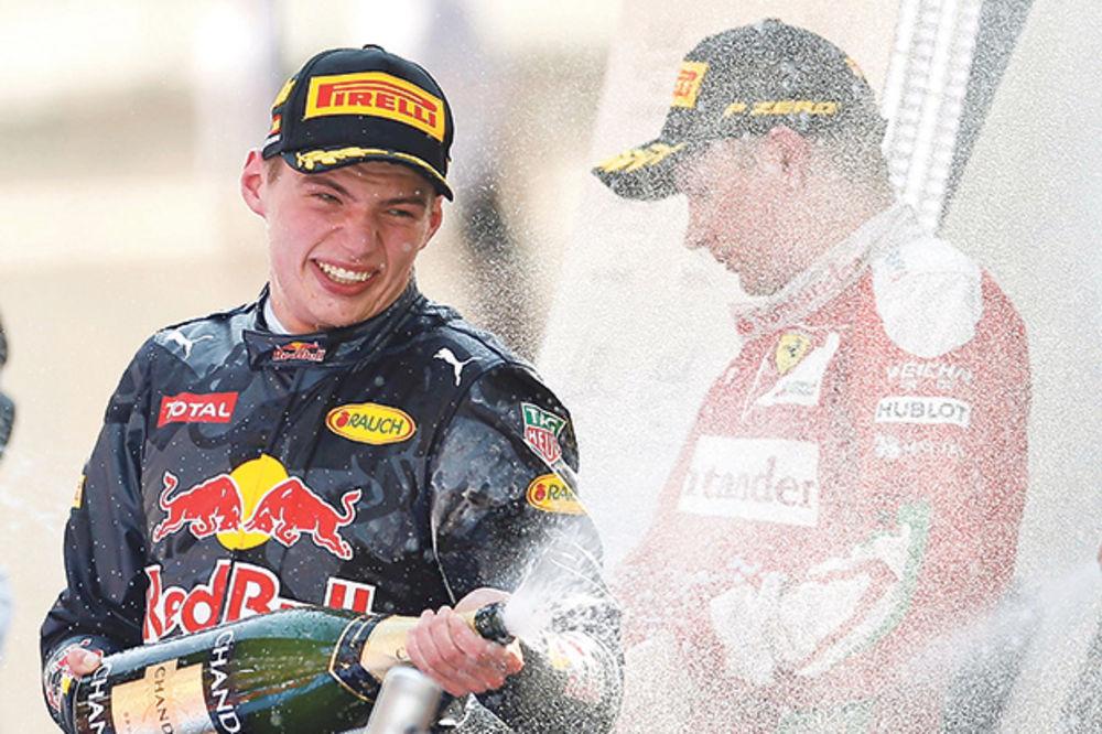 LUDO I BRZO: Mladi Ferštapen ušao u istoriju Formule 1