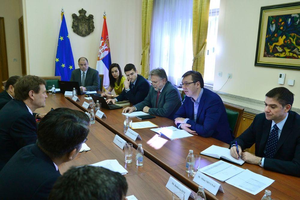 O EKONOMSKOM PROGRAMU NOVE VLADE: Počeo sastanak Vučića sa delegacijom MMF
