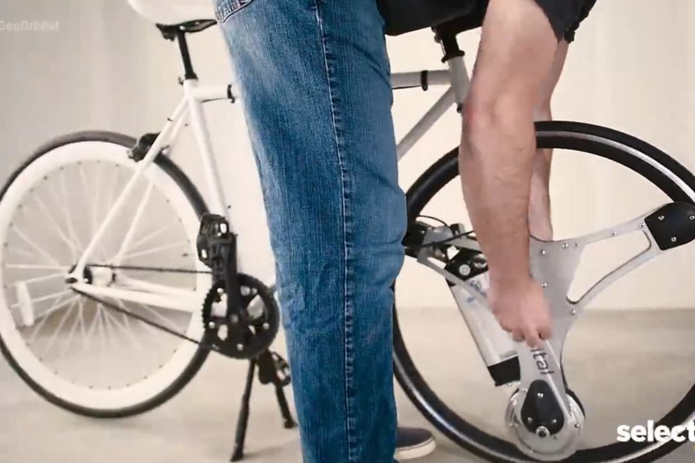 (VIDEO) ELEKTRIČNI TOČAK ZA LENJIVCE: Ako želite da vozite bicikl bez napora, ovo je izum za vas!