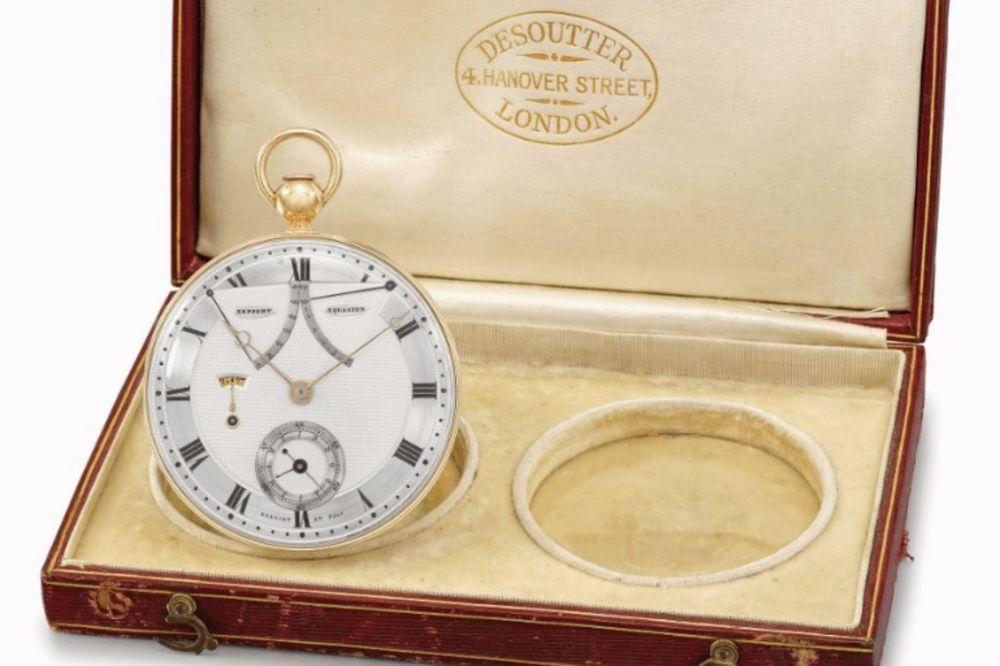 VREME JE NOVAC: 3 miliona evra za stari džepni sat iz 19. veka, a još radi!
