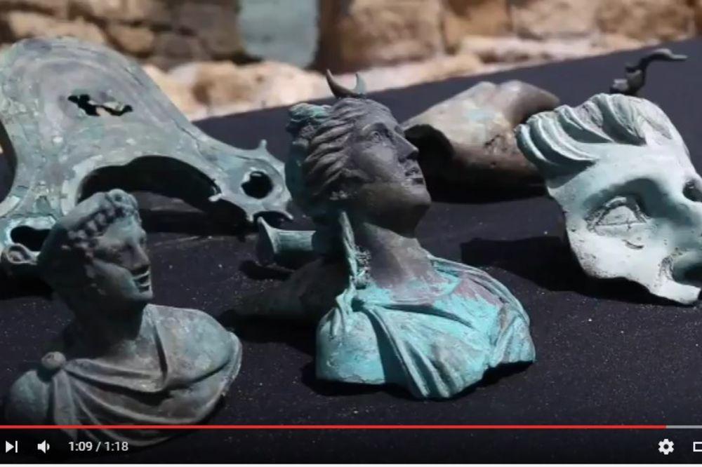 (VIDEO) OČUVANI KAO DA SU IZRAĐENI JUČE: Na dnu sredozemnog mora pronašli neprocenjivo blago