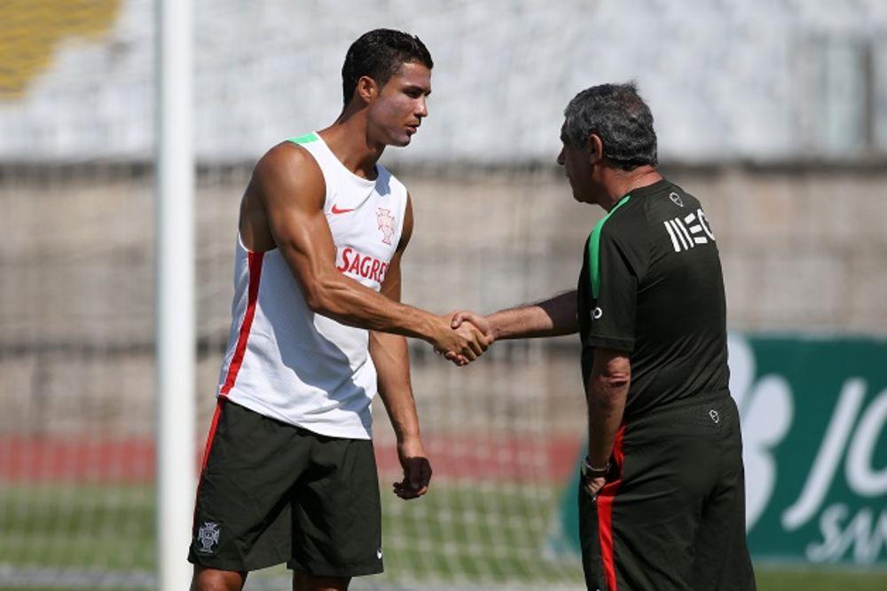 PORTUGALCI PRED EP: Kristijano Ronaldo predvodi matorce