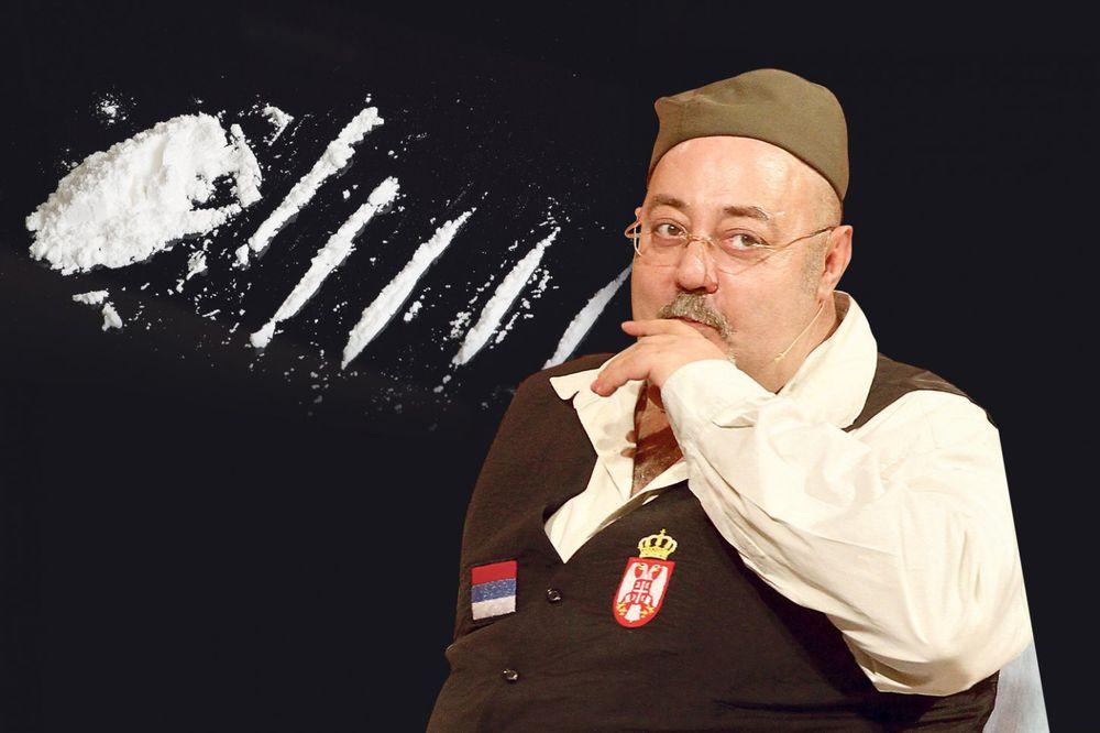 ĐOŠA UHVAĆEN SA 50 GRAMA KOKAINA: Voditelj pao u tajnoj akciji policije!