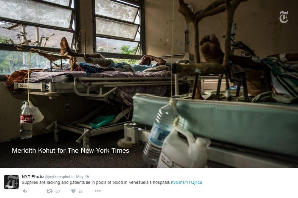 (UZNEMIRUJUĆI FOTO) OVO JE BOLNICA IZ PAKLA: Pacijenti dele krvave krevete, a životinje im jedu decu