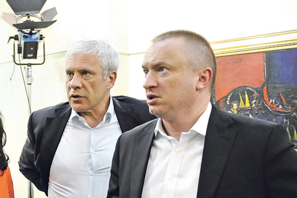 UDARIO KUM NA KUMA: Boris Tadić hoće u DS, Šutanovac mu ne da!