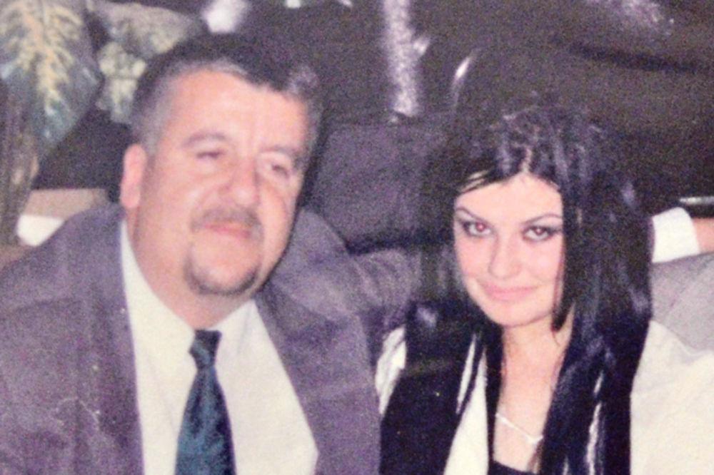 Jelena s ocem Dušanom