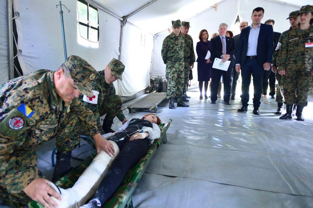 ZA DELOVANJE U KRIZNIM SITUACIJAMA: Uskoro formiranje Balkanskih medicinskih snaga