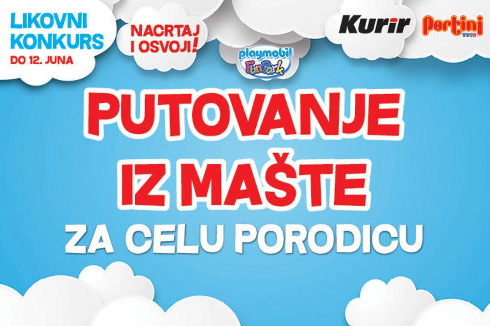 OVO JE PRILIKA KOJA SE NE PROPUŠTA: Učestvujte u Kurir i Pertini likovnom konkursu